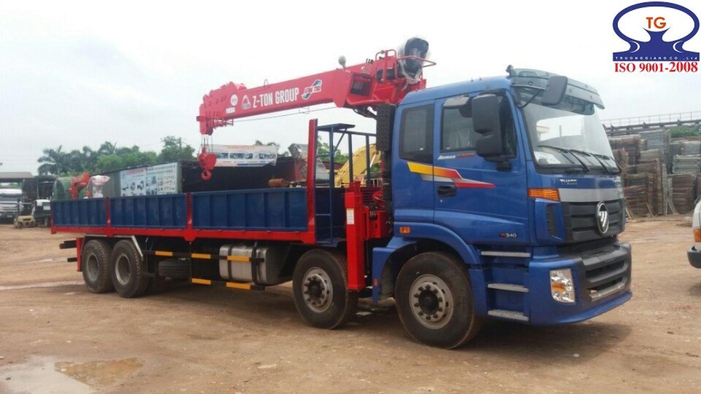 Xe tải cẩu Thaco 15 tấn
